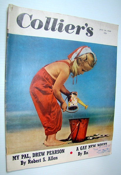 Image for Collier's, The National Weekly Magazine, 30 July, 1949 - Shelley Winters / Phillip Jessup