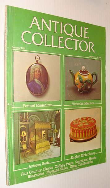 Image for Antique Collector Magazine, January 1977