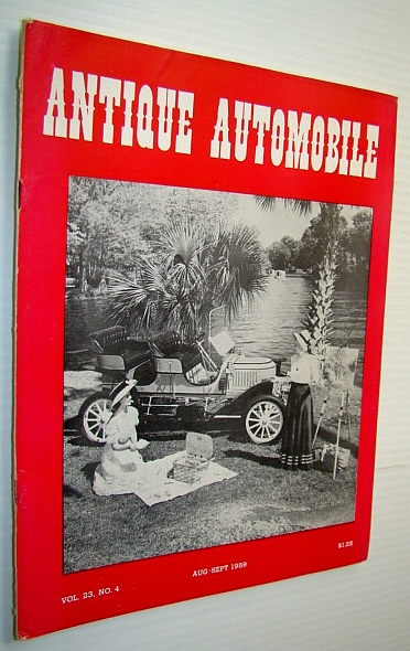 Image for Antique Automobile Magazine, August-September 1959