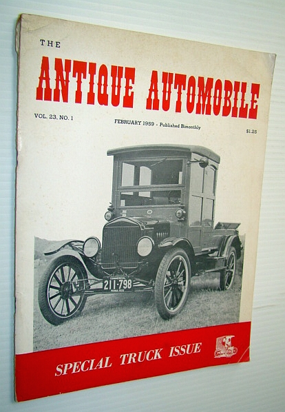 Image for The Antique Automobile Magazine, February 1959 - Special Truck Issue