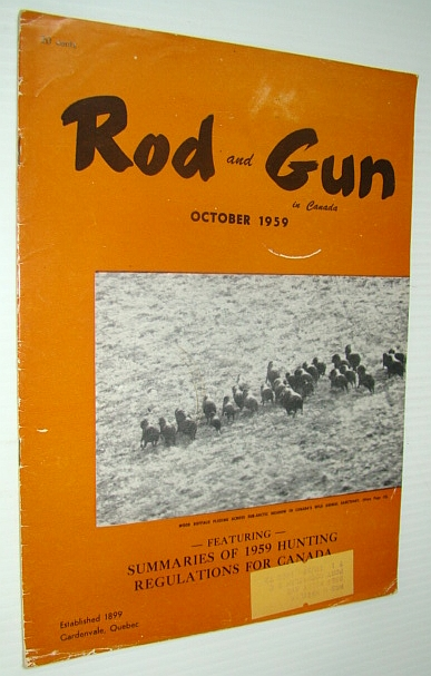 Image for Rod & Gun in Canada Magazine, October 1959 - Summaries of 1959 Hunting Regulations for Canada