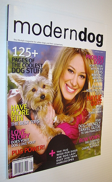 Image for Modern Dog Magazine Spring 2007 - Haylie Duff Cover Photo