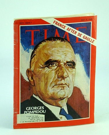 Image for Time Magazine, May 9, 1969 - Georges Pompidou Cover