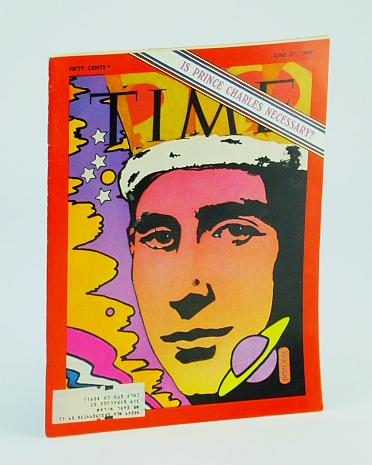 Image for Time Magazine, June 27, 1969 - Prince Charles Cover