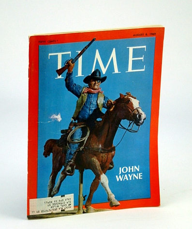 Image for Time Magazine, August (Aug.) 8, 1969 - John Wayne Cover