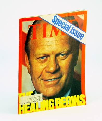 Image for Time Magazine, August (Aug.) 19, 1974 - Gerald Ford Cover
