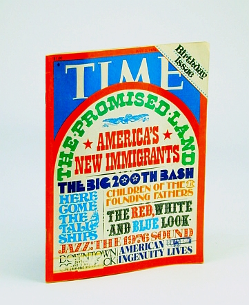 Image for Time Magazine, July 5, 1976 - America's New Immigrants