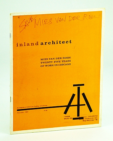 Image for Inland Architect, Chicago Chapter, American Institute of Architects (AIA), November (Nov.) 1963 - Mies Vand Der Rohe, Twenty Five (25) Years of Work in Chicago