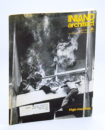 Image for Inland Architect, Chicago Chapter, American Institute of Architects (AIA), August (Aug.) 1974 - High-Rise Fires