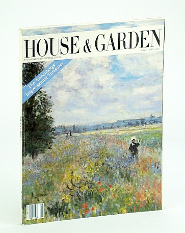 Image for House & Garden Magazine, August (Aug.) 1985 - Marc Rosen and Arlene Dahl's Hudson River Classic