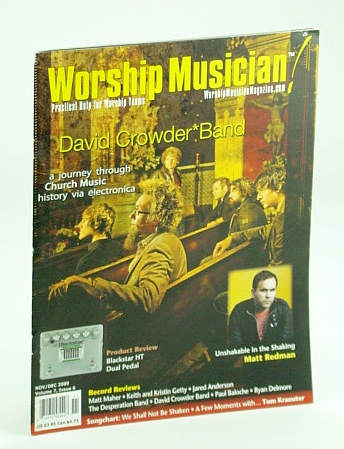 Image for Worship Musician Magazine - Practical Help for Worship Teams, November / December (Nov. / Dec.) 2009: David Croder Band Cover Photo