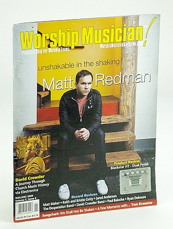 Image for Worship Musician Magazine - Practical Help for Worship Teams, November / December (Nov. / Dec.) 2009: Matt Redman Cover Photo