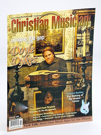 Image for Christian Musician Magazine - Improving Musicianship, Inspiring Talent - November / December (Nov. / Dec.) 2009 - Doyle Dykes Cover Photo