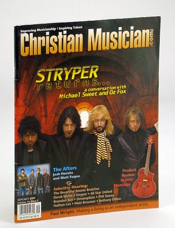 Image for Christian Musician Magazine - Improving Musicianship, Inspiring Talent - September / October (Sept. / Oct.) 2009 - Stryper Cover Photo