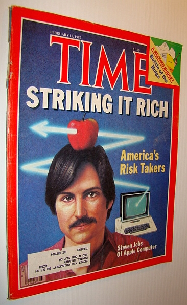 Image for Time Magazine, February 15th, 1982 *STEVE JOBS COVER*
