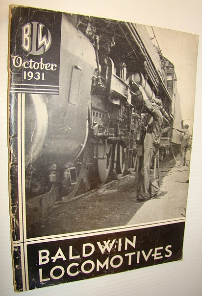 Image for Baldwin Locomotives (Magazine), October (Oct.) 1931