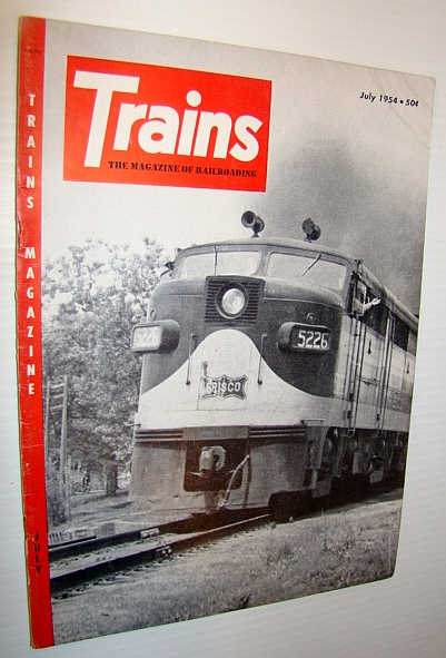 Image for Trains - The Magazine of Railroading, July 1954