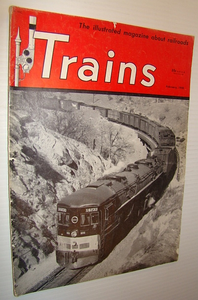 Image for Trains - The Illustrated Magazine about Railroading, February 1950 - San Francisco's Belt Line