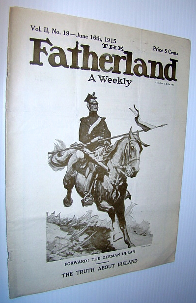 Image for The Fatherland - Fair Play for Germany and Austria-Hungary, June 16th, 1915