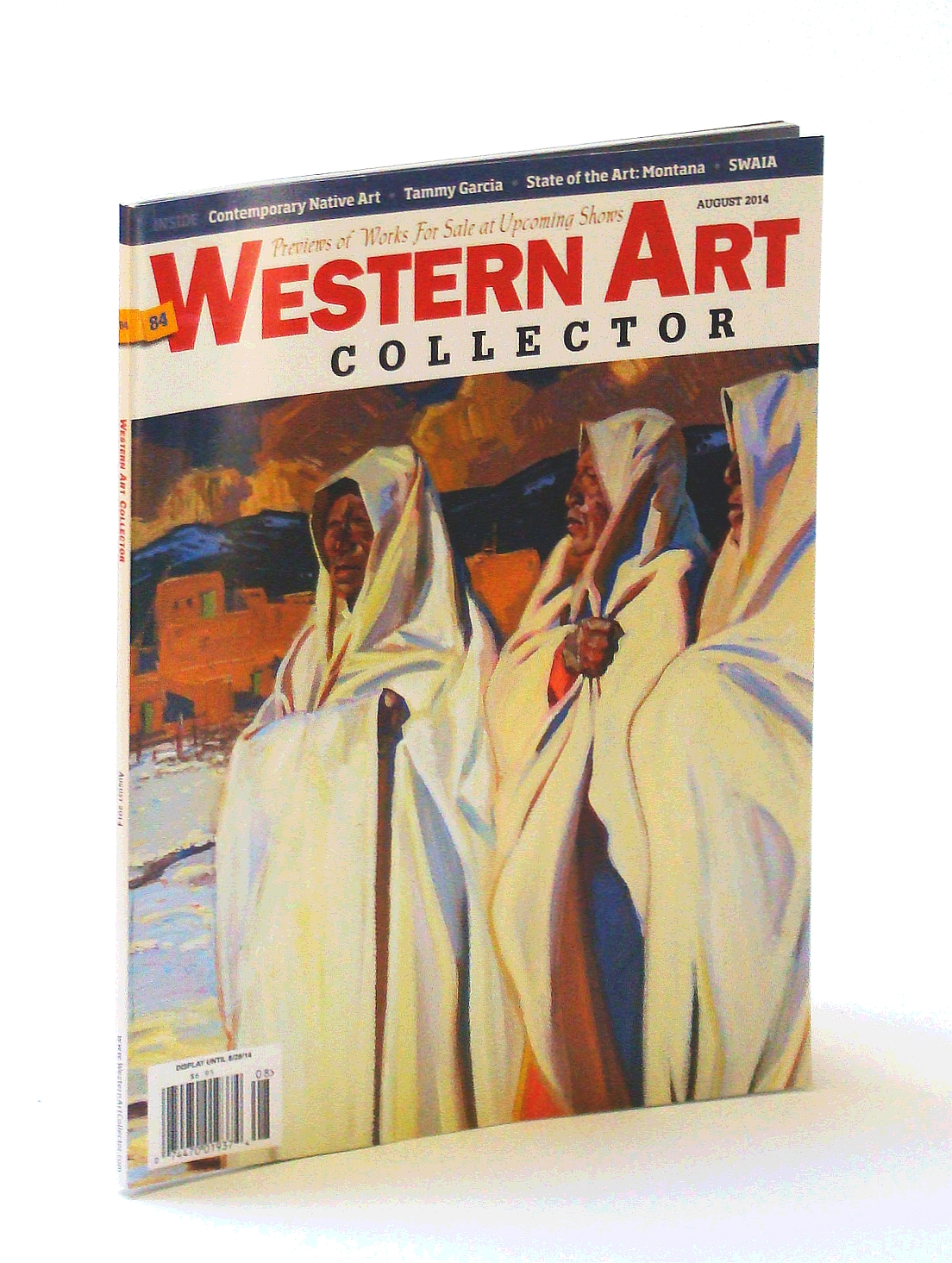 Image for Western Art Collector Magazine, August [Aug.) 2014  - Tammy Garcia