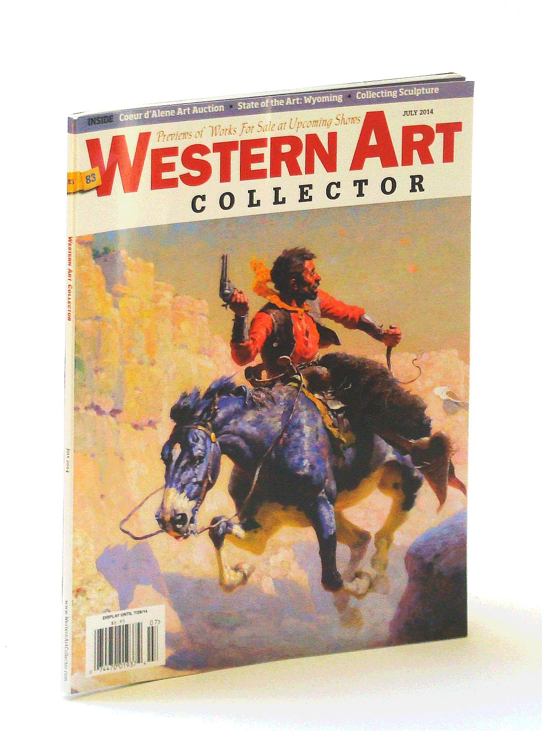 Image for Western Art Collector Magazine, July 2014  - Kim Wiggins