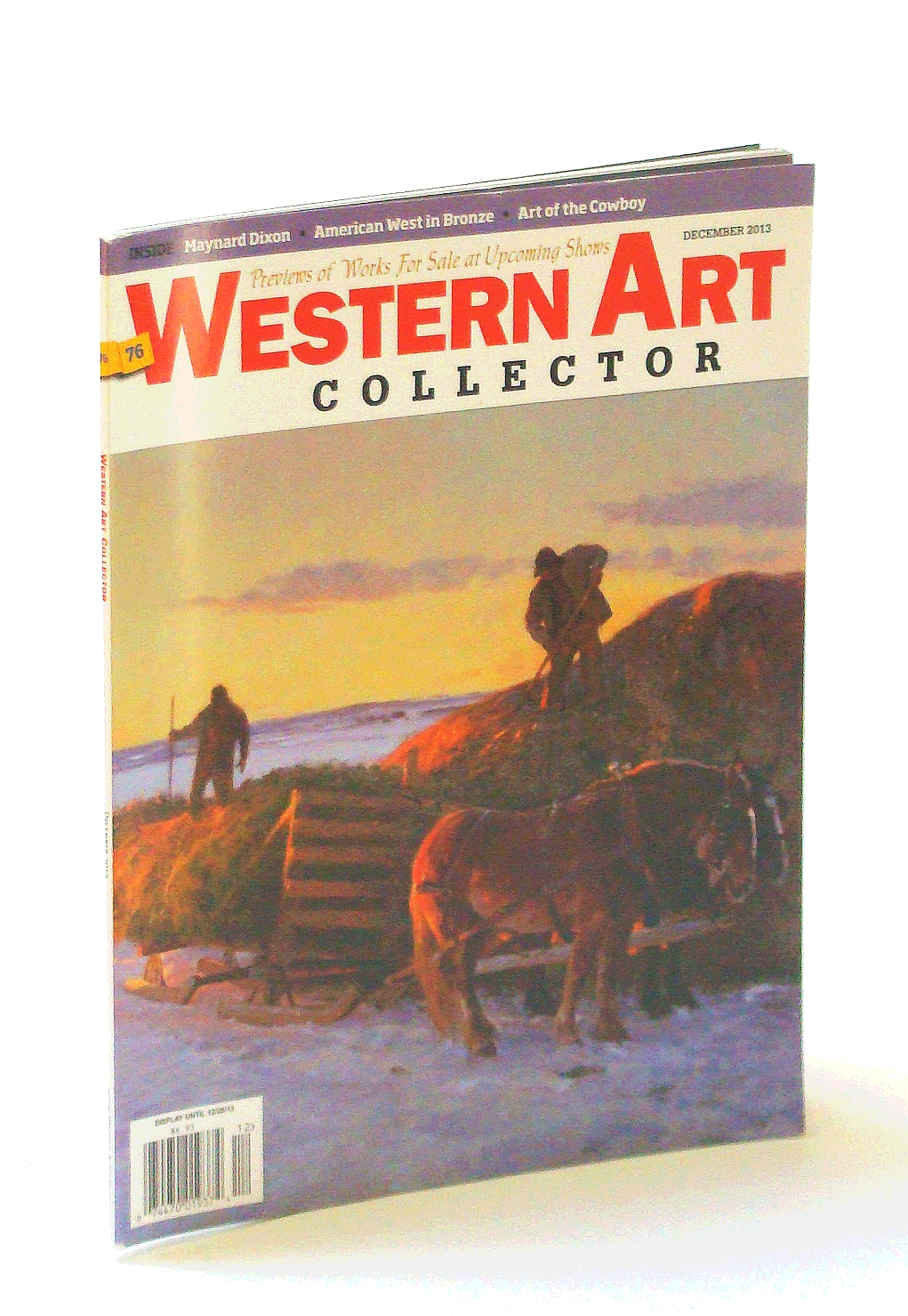 Image for Western Art Collector Magazine, December [Dec.] 2013  - Maynard Dixon