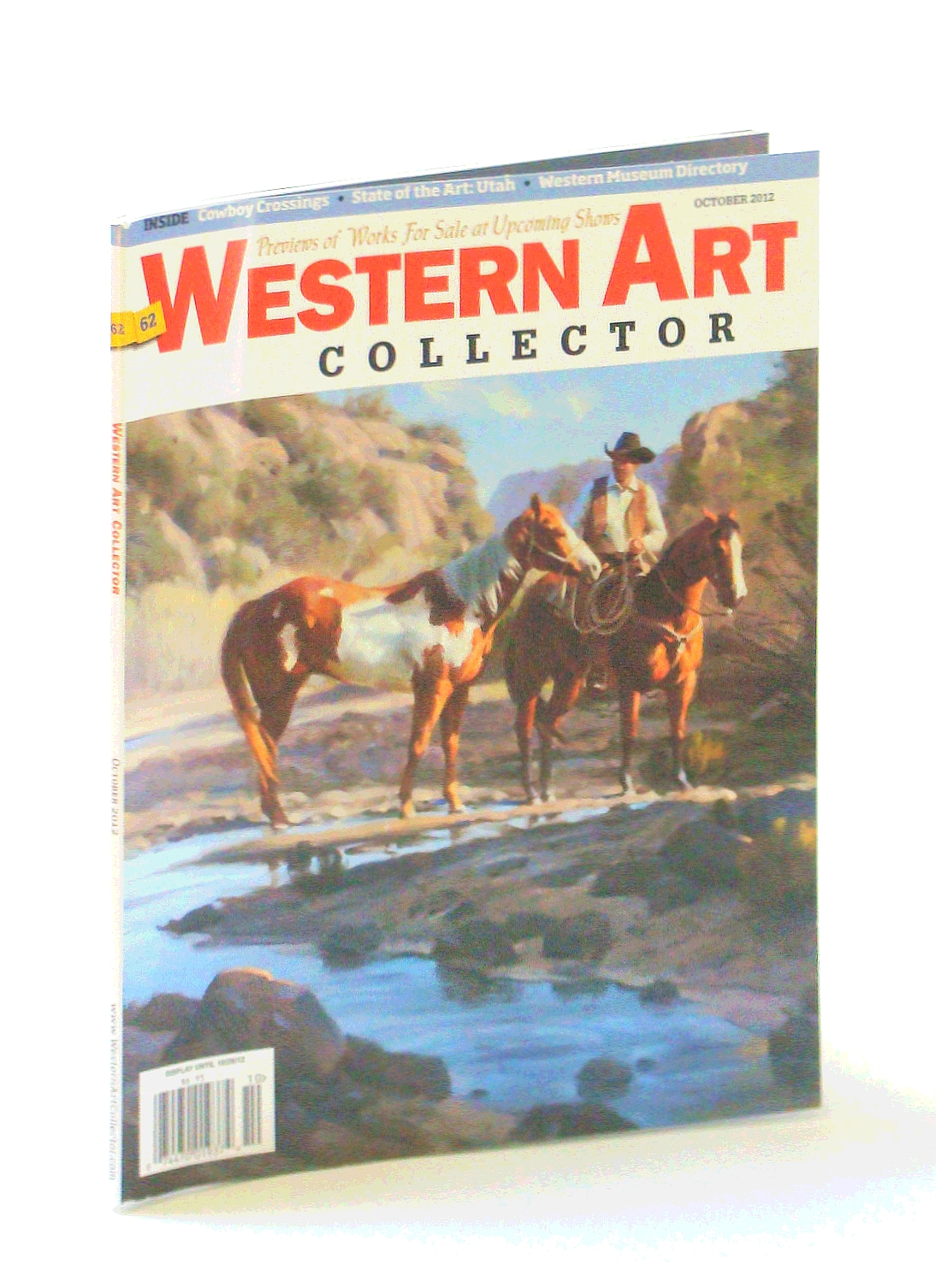 Image for Western Art Collector Magazine, October [Oct.] 2012 - Walter Matia