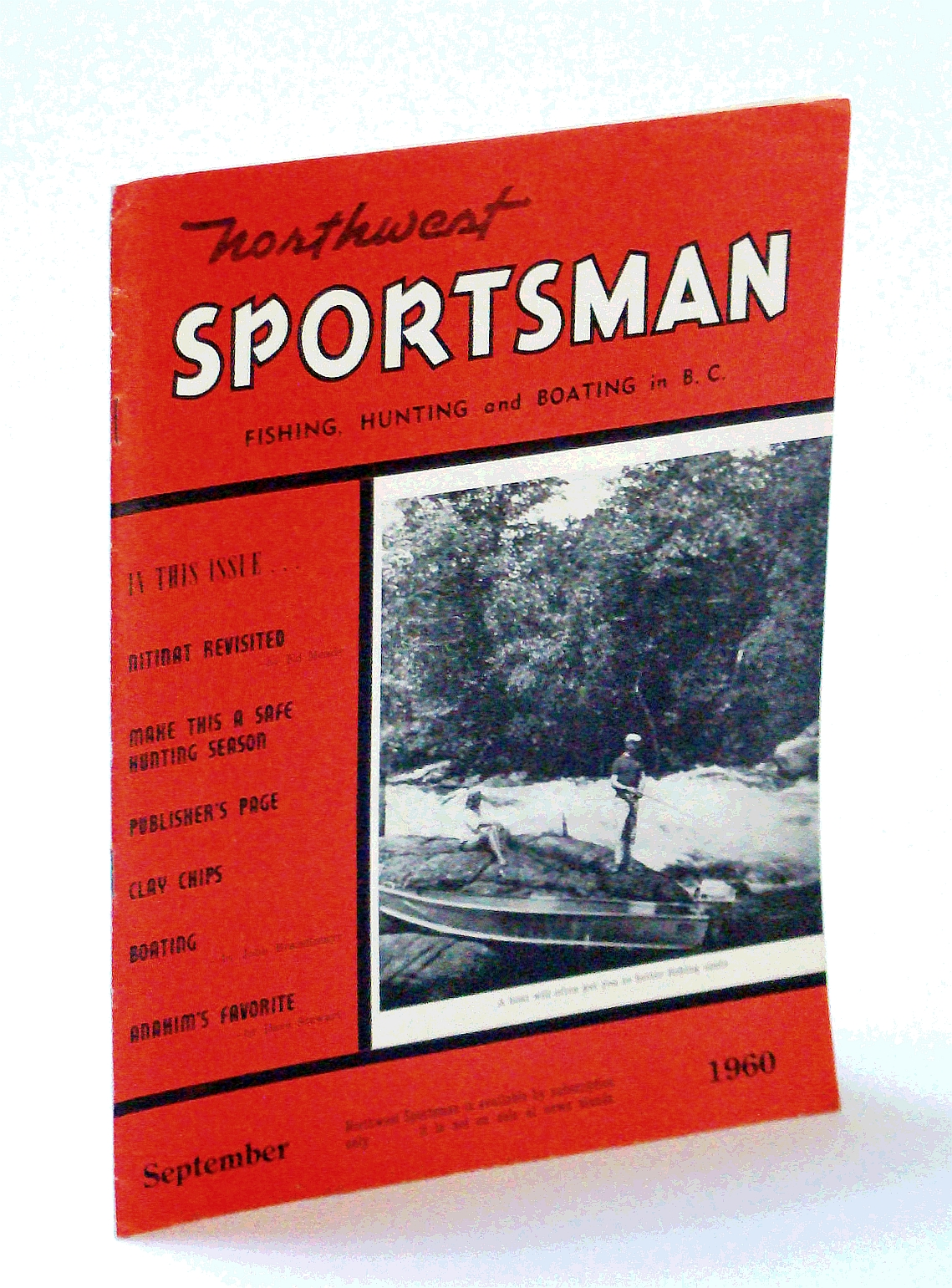 Image for Northwest Sportsman Magazine - Fishing, Hunting and Boating in B.C., September [Sept.] 1960 - Nitinat Revisited