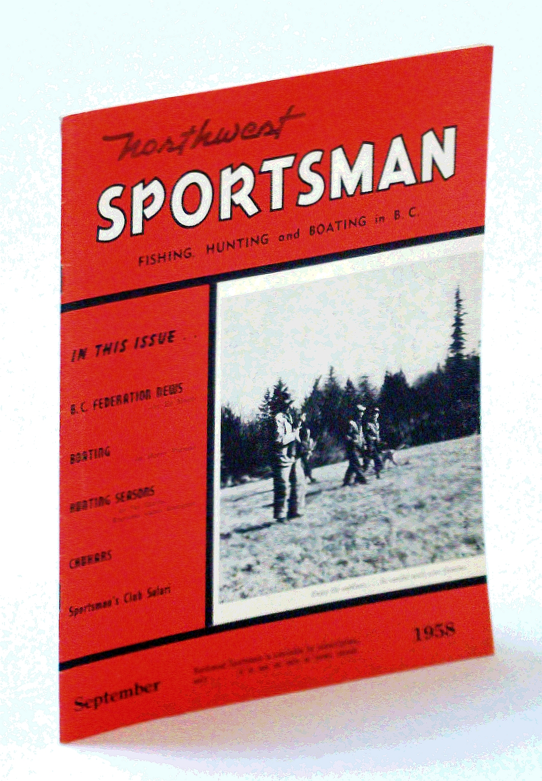 Image for Northwest Sportsman Magazine - Fishing, Hunting and Boating in B.C., September [Sept.] 1958 - The Chukar