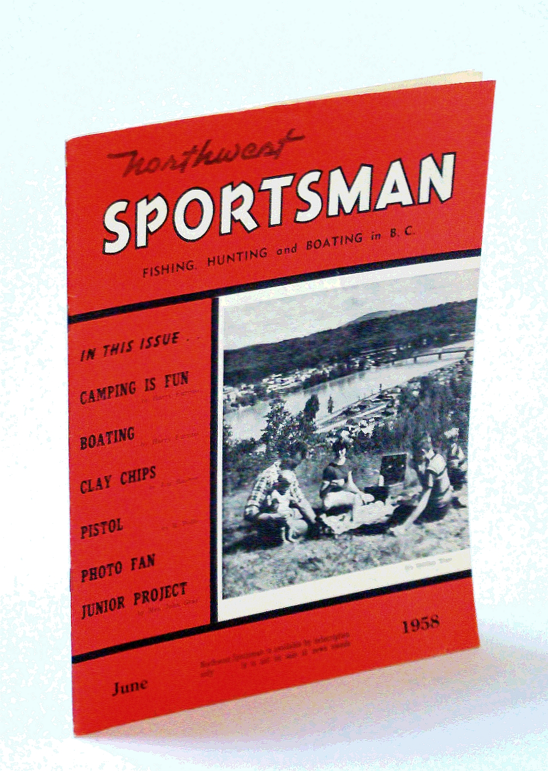 Image for Northwest Sportsman Magazine - Fishing, Hunting and Boating in B.C., June 1958 - Photos of Shooting Prize Winners