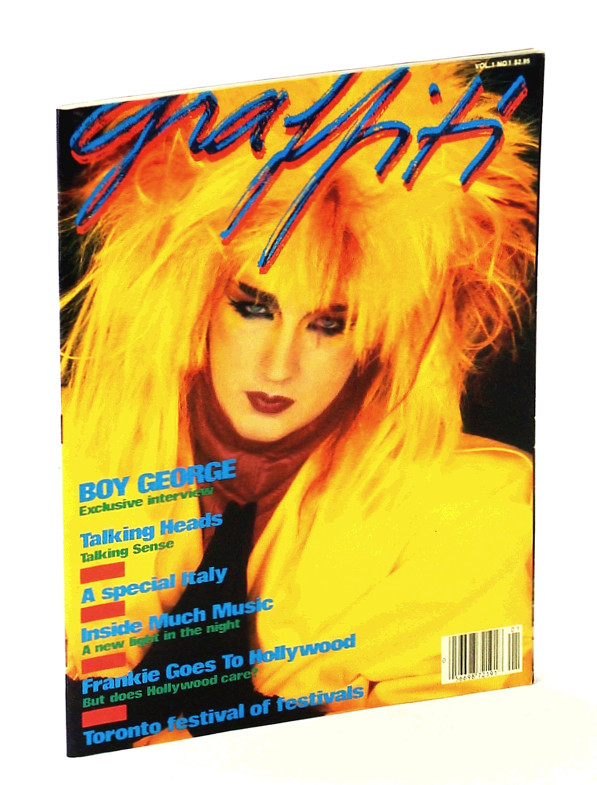 Image for Graffiti [Magazine] Vol 1 No. 1, November 1984 - PREMIERE ISSUE