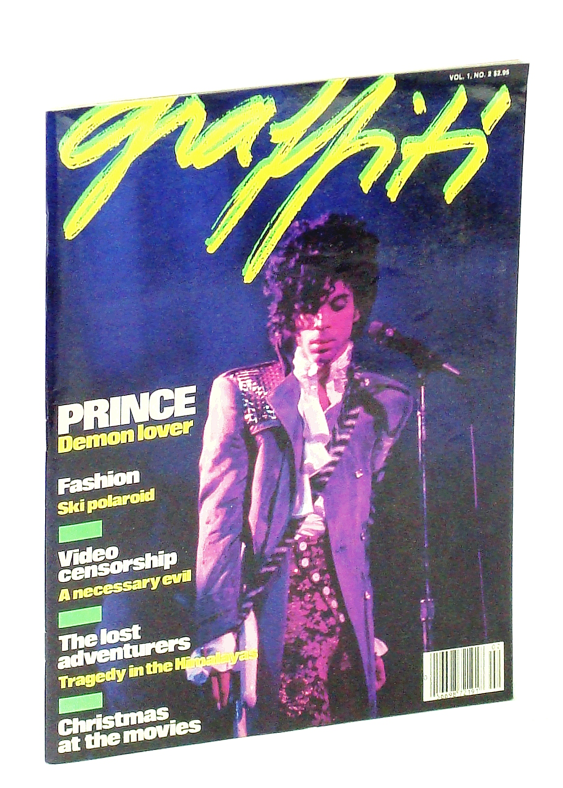Image for Graffiti [Magazine] Vol 1 No. 2, November 1984 - Prince Cover Photo
