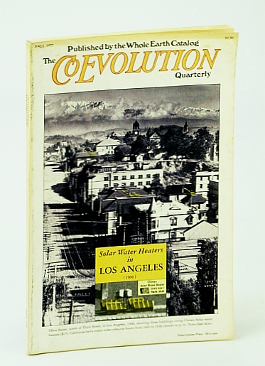 Image for The Coevolution Quarterly (Magazine), No. 15, Fall 1977 - Solar Water Heaters in California, 1891-1930