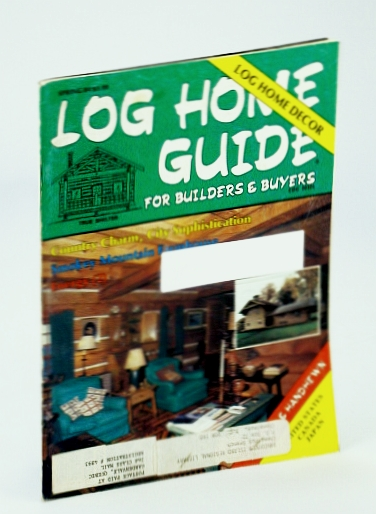 Image for Log Home Guide (Magazine) - For Builders and Buyers, Spring 1984 - Smokey Mountain Farmhouse