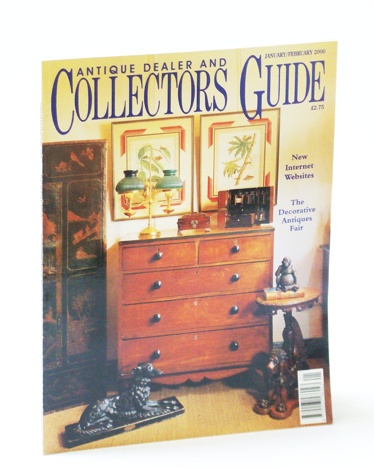 Image for Antique Dealer and Collectors Guide Magazine, January / February (Jan. / Feb.) 2000 - Richard Hilliard (1519-1594), Part II