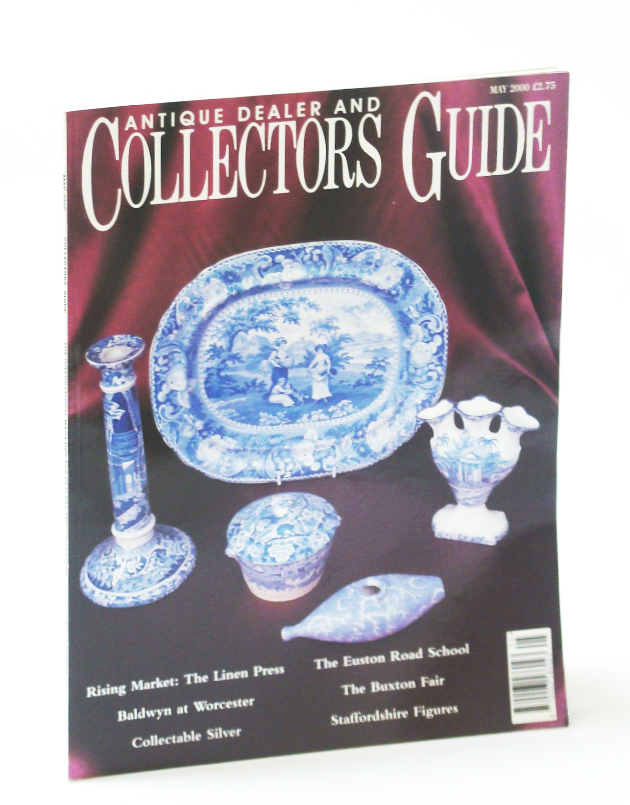 Image for Antique Dealer and Collectors Guide Magazine, May 2000 - The Clothes Press
