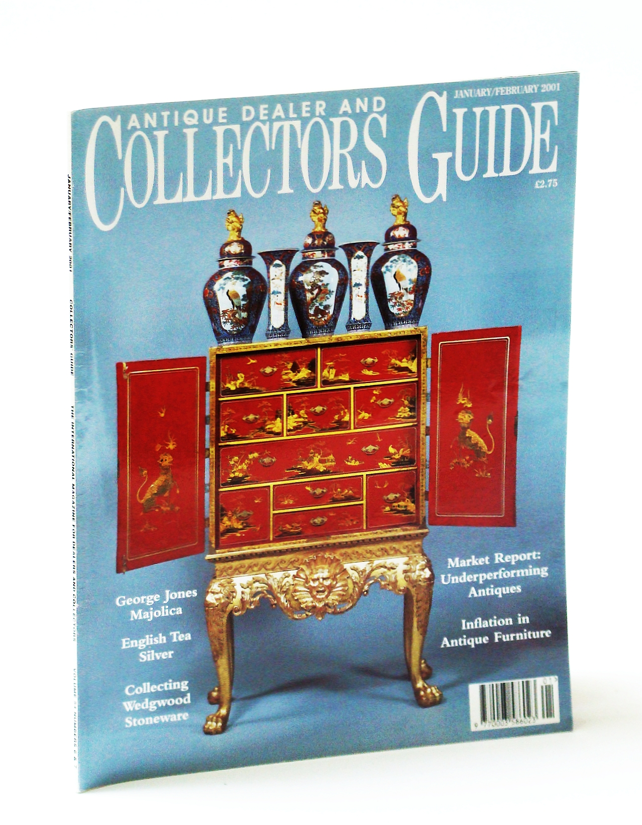 Collecting Antique Furniture Style Guide Throughout Image For Antique Dealer And Collectors Guide Magazine January February jan