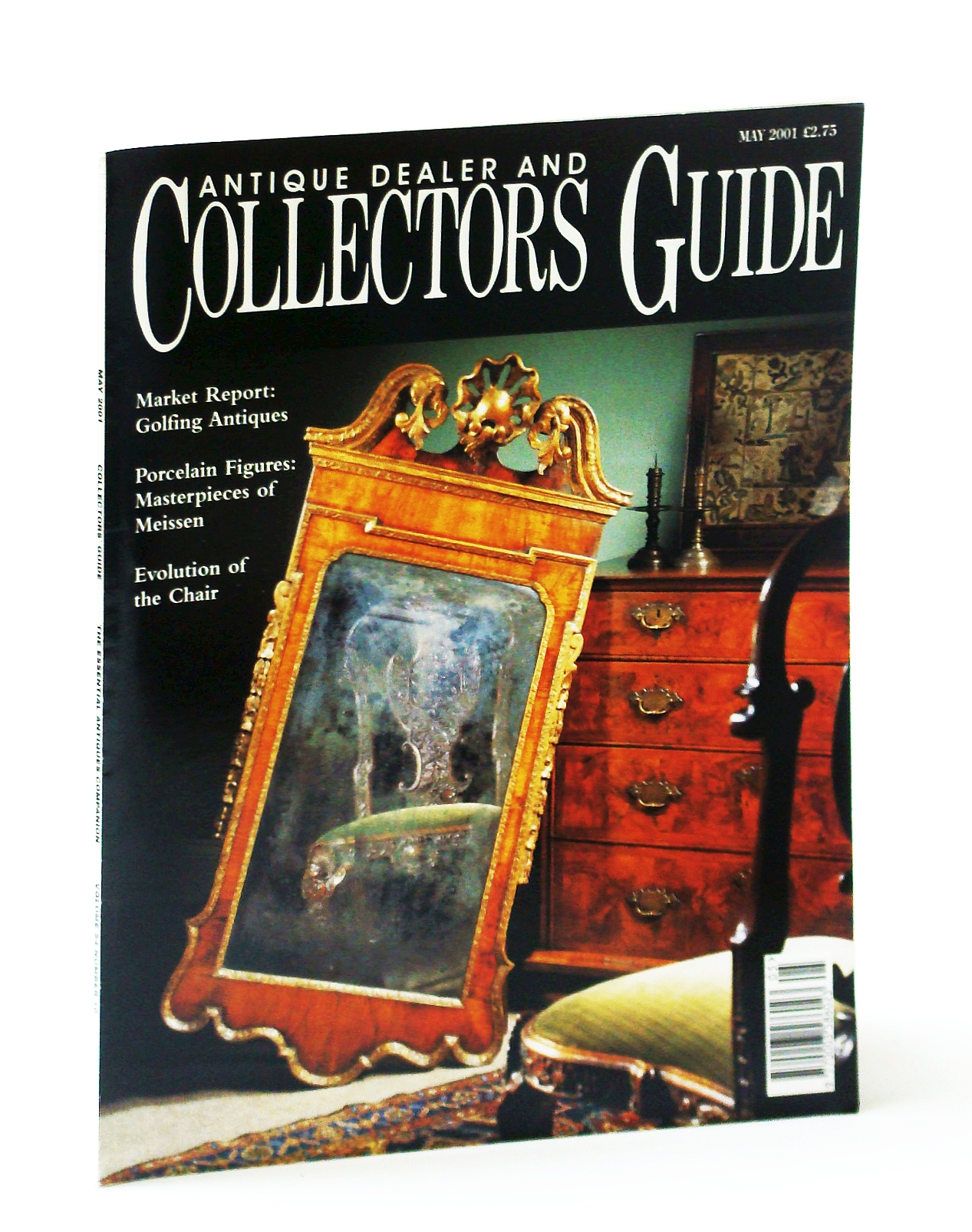 Image for Antique Dealer and Collectors Guide Magazine, May 2001 - Alfred Pizzey Newton