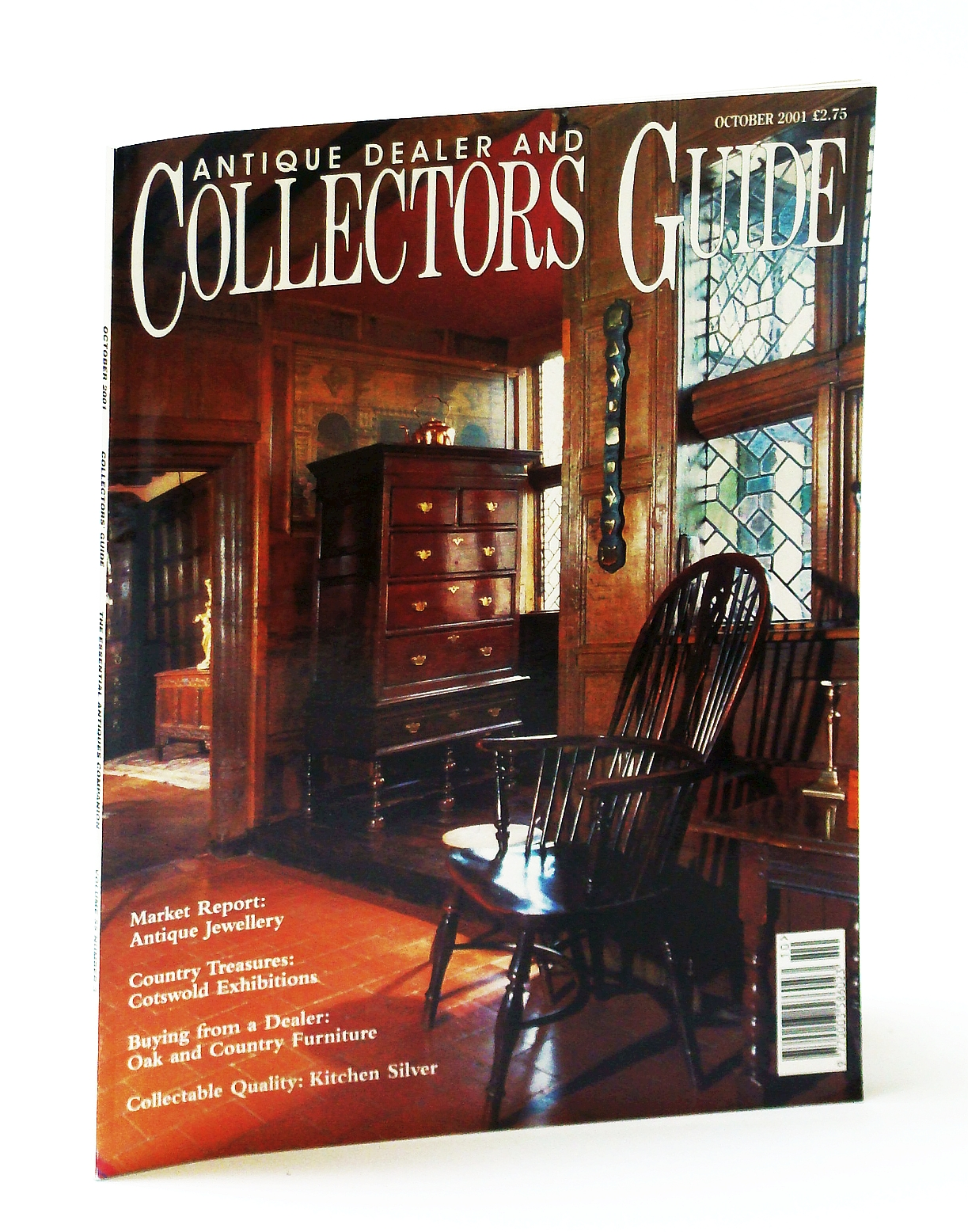 Image for Antique Dealer and Collectors Guide Magazine, October (Oct.) 2001 - Edward John Gregory (1850-1909)