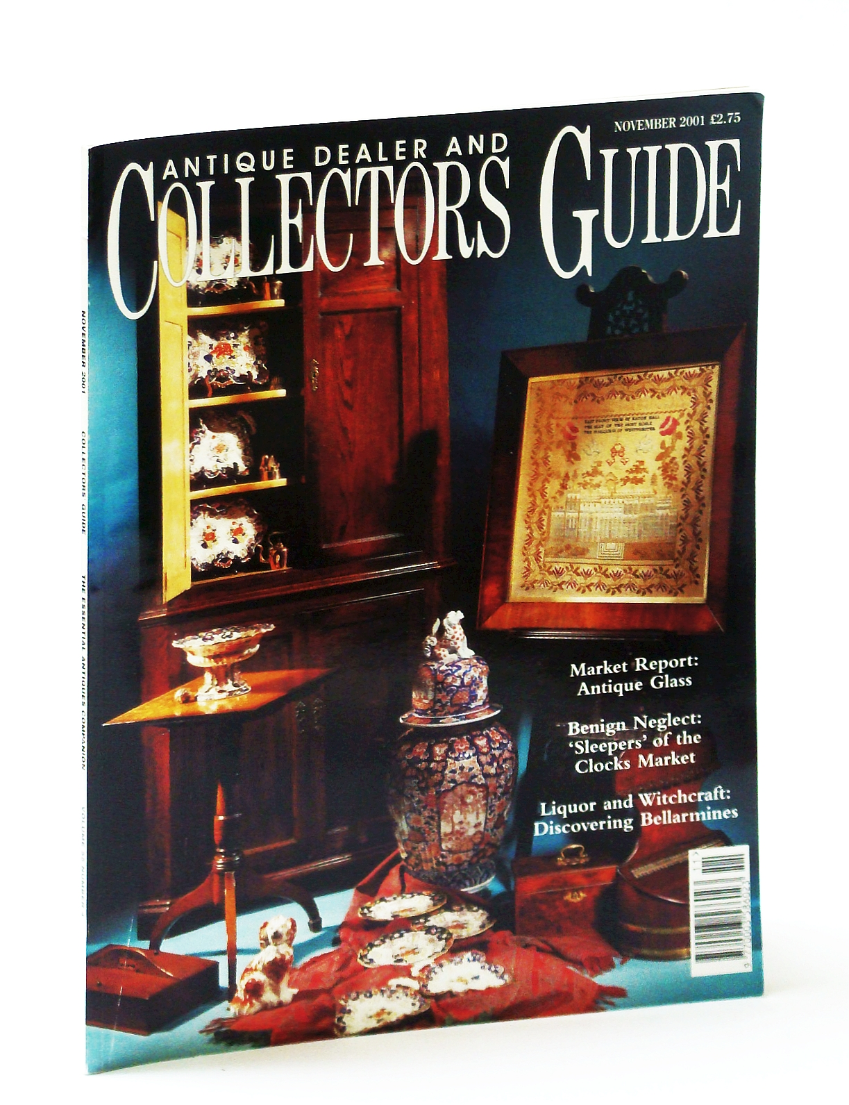 Image for Antique Dealer and Collectors Guide Magazine, November (Nov.) 2001 - William Mein Smith (1799-1869)