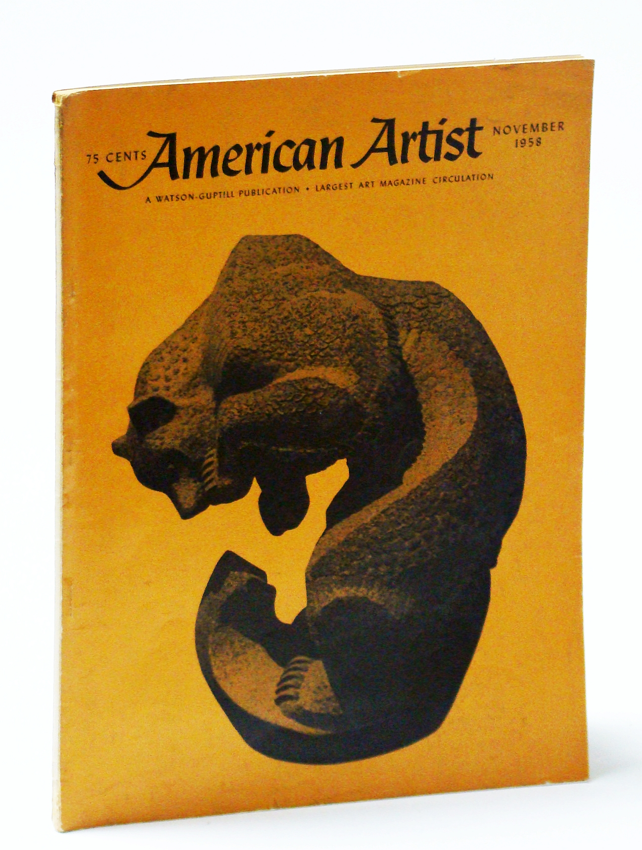 Image for American Artist Magazine, November (Nov.) 1958 - Betty Davenport Ford / Nat Youngblood
