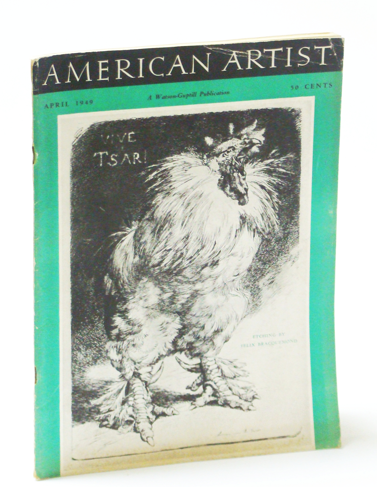 Image for American Artist Magazine, April (Apr.) 1949 - Joe Kaufman / A Look at Canadian Art