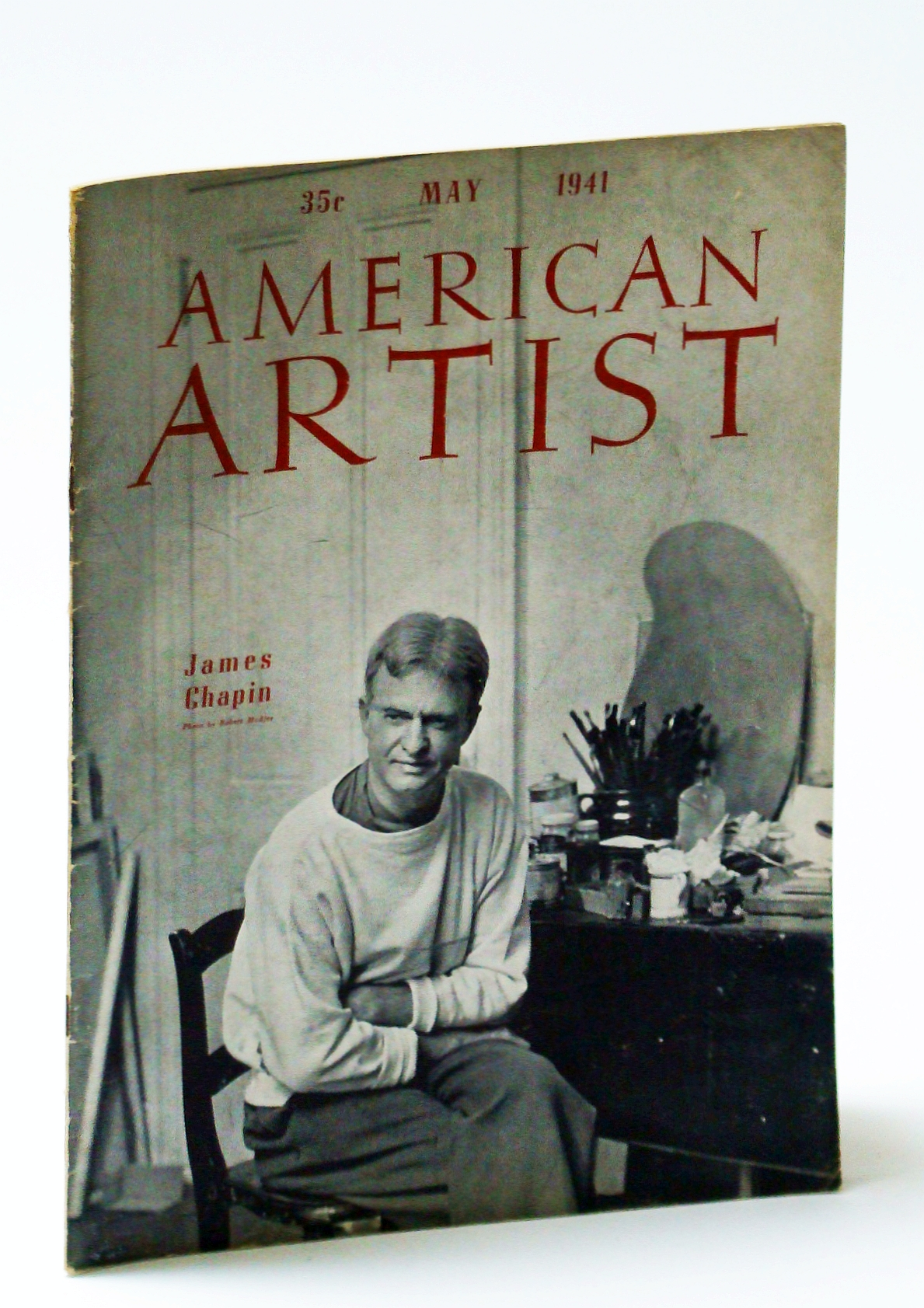 Image for American Artist Magazine, May 1941 - James Chapin Cover Photo
