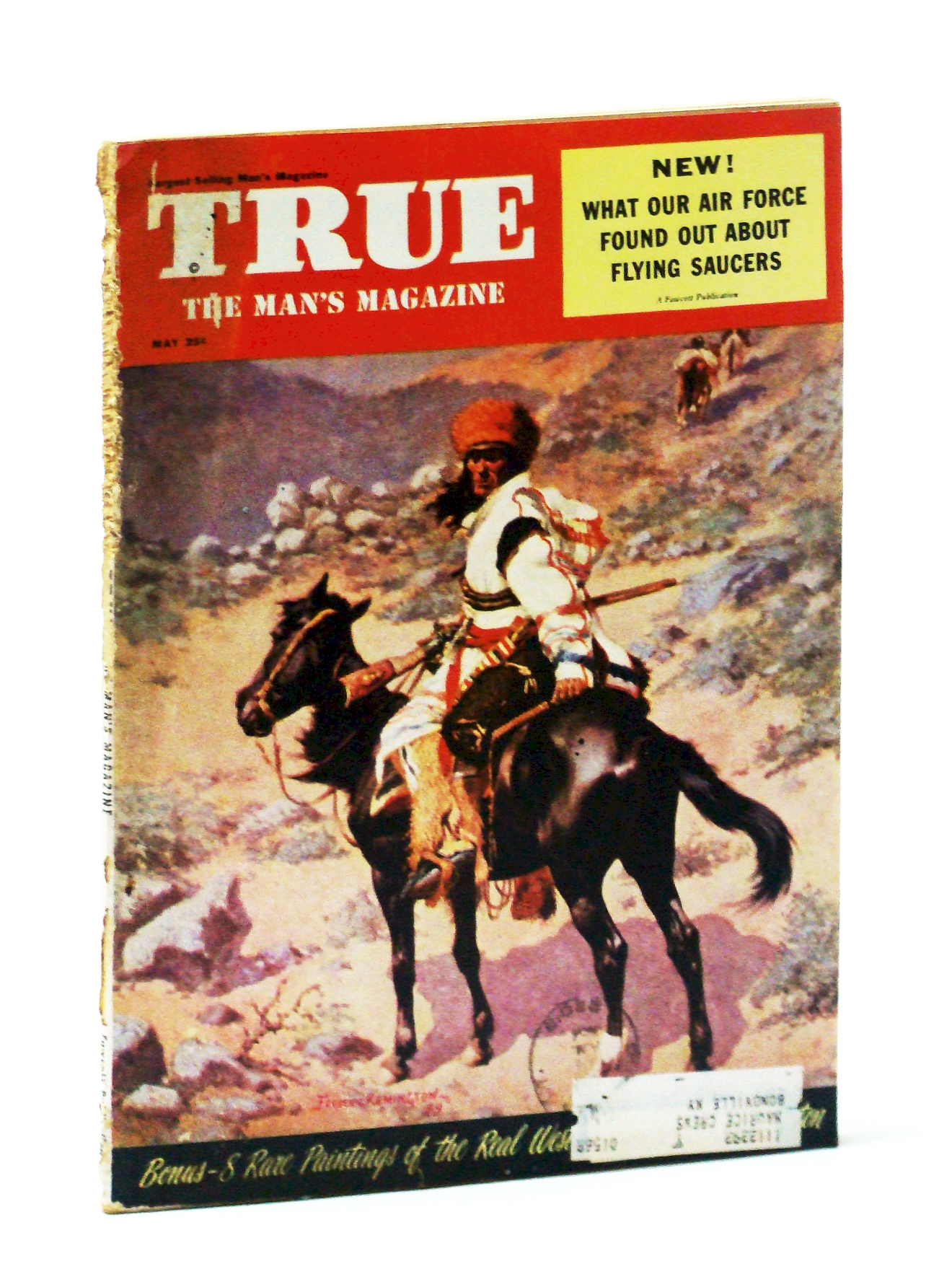Image for True - The Man's Magazine, May 1954: The USAF and Project Blue Book
