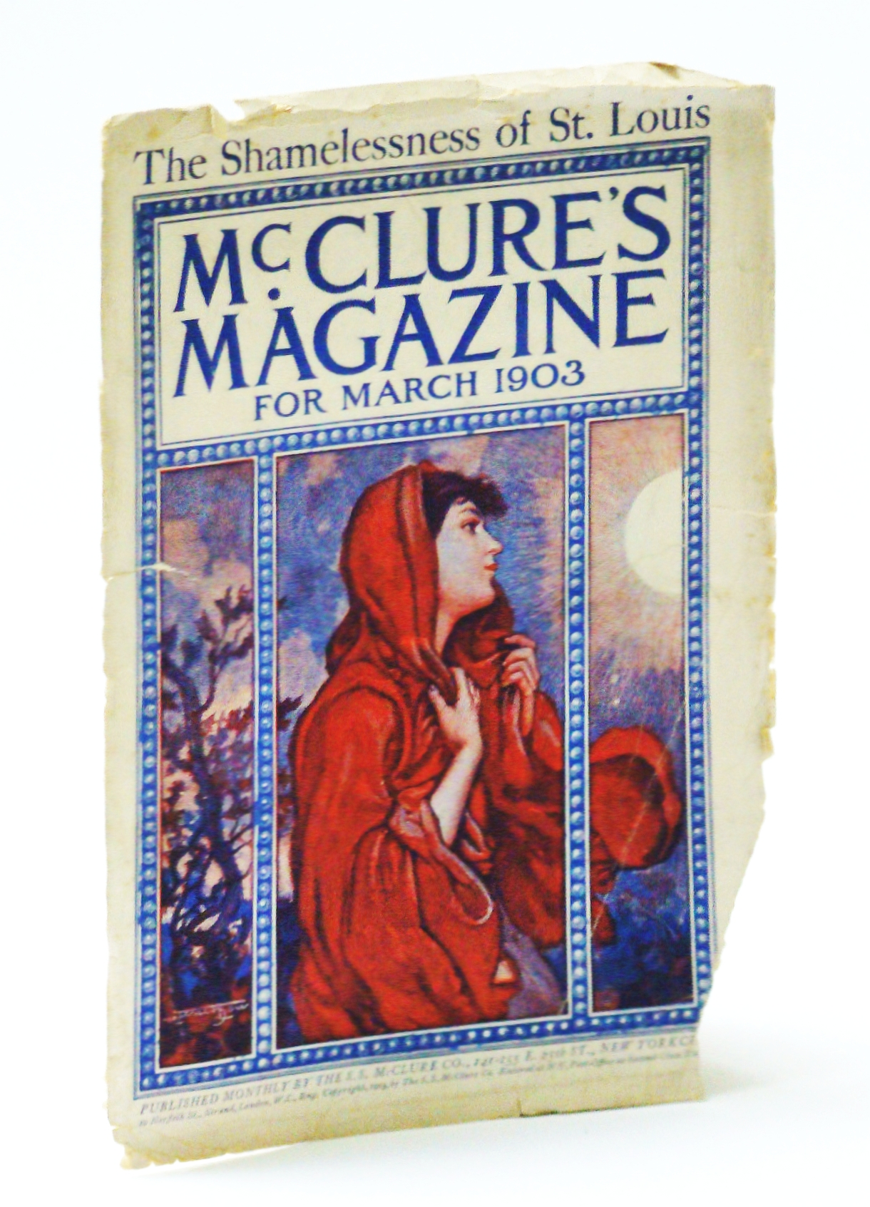 Image for McClure's Magazine, March 1903 - The Shamelessness of St. Louis (Front Cover Only)
