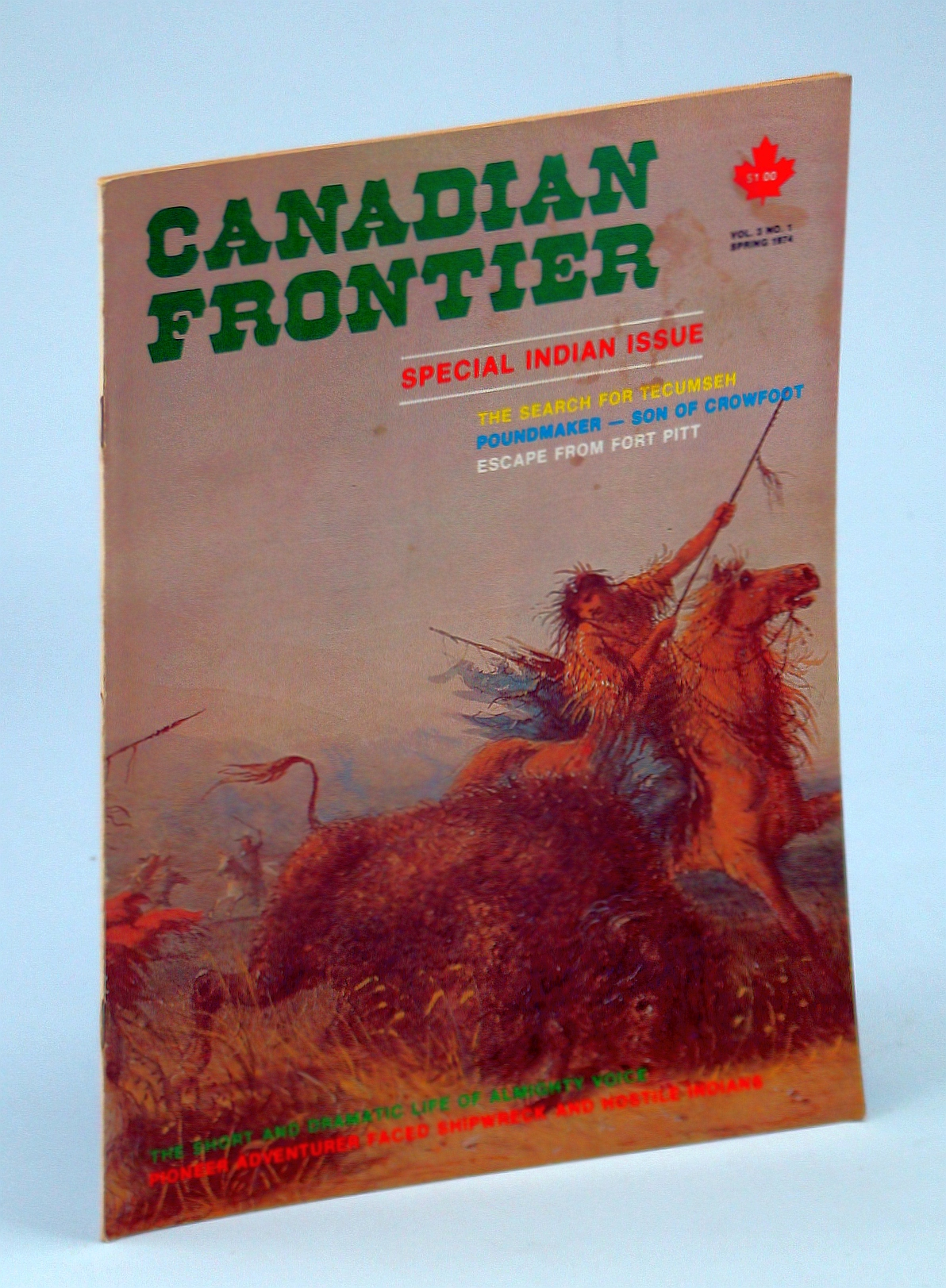 Image for Canadian Frontier Magazine, Vol. 3 No. 1, Spring 1974: Special Indian Issue