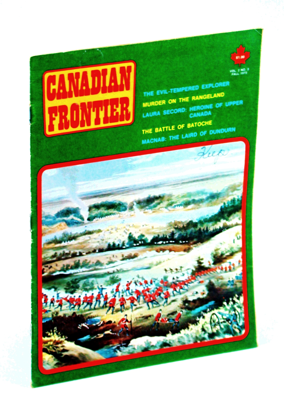 Image for Canadian Frontier Magazine, Volume 2, Number 3, Collector's No. 6, Fall 1973 - Laura Secord