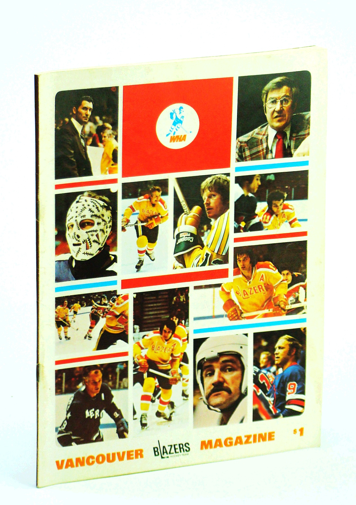 Image for Vancouver Blazers Magazine, Volume II, Issue No. 4, October 20, 1974: Chicago Cougars Visit Vancouver