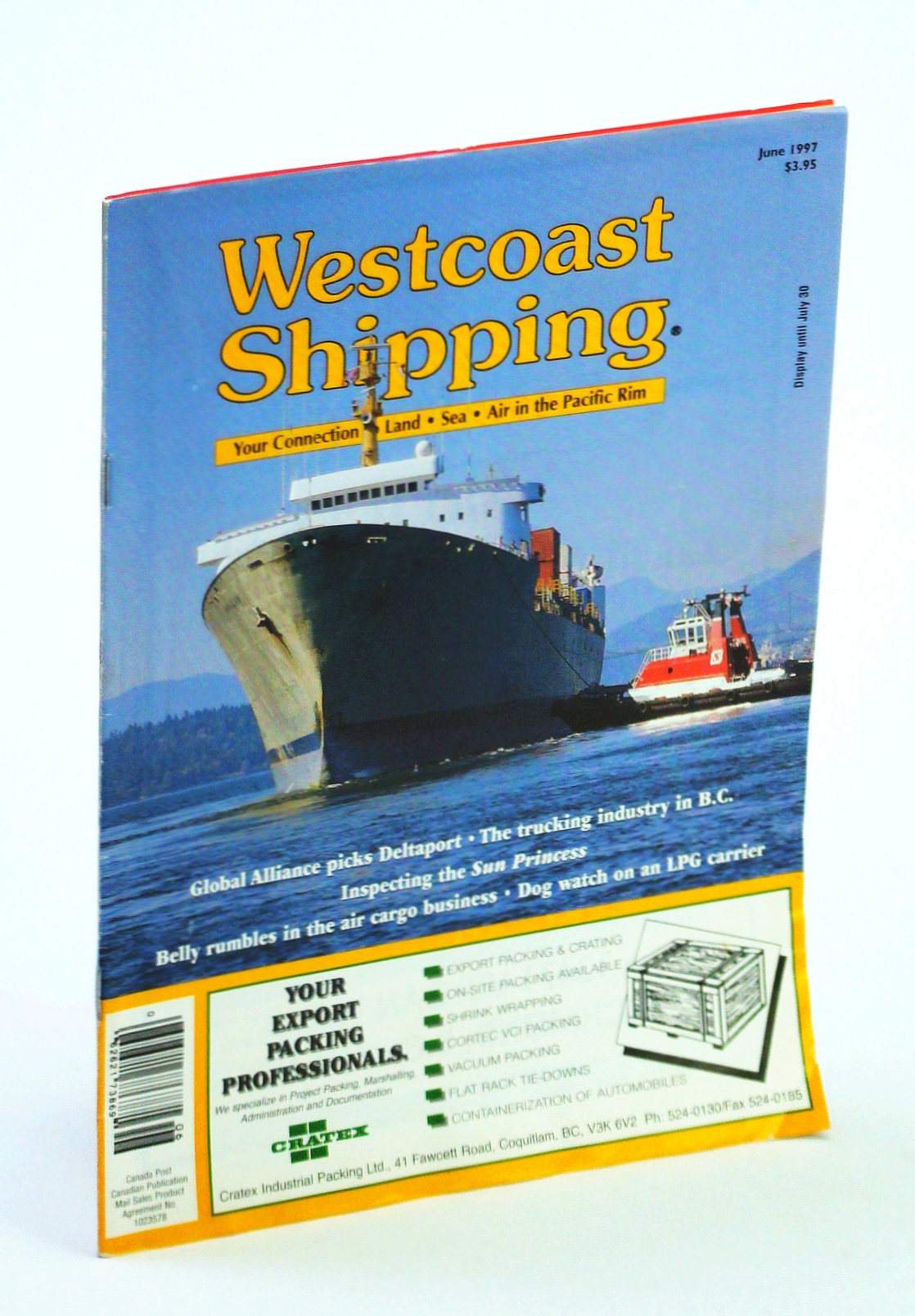 Image for Westcoast Shipping [Magazine] - Your Connection to Land, Sea, Air in the Pacific Rim, June 1997