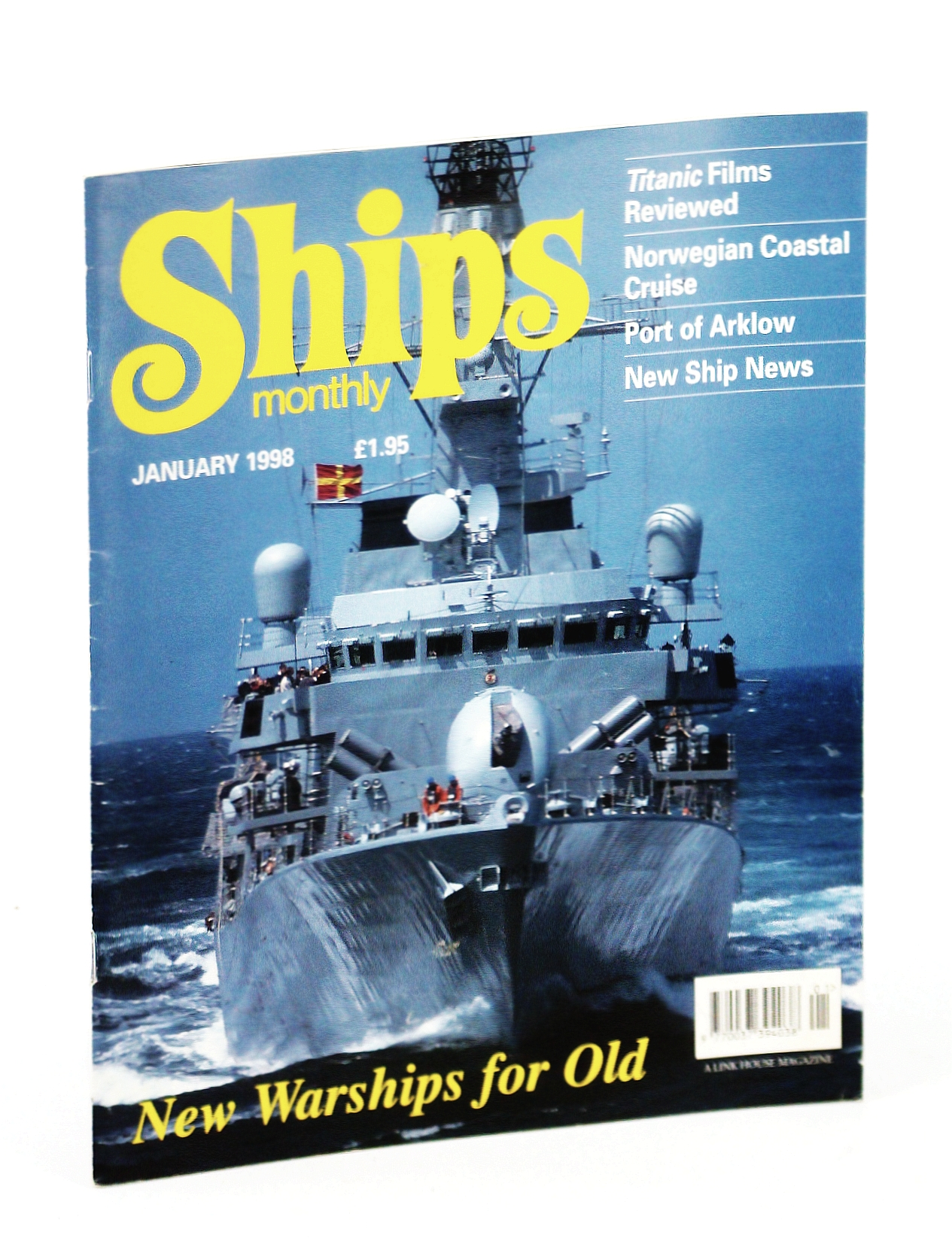 Image for Ships Monthly - The International Magazine for Shiplovers Ashore and Afloat: January 1998